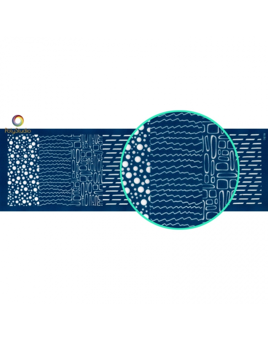 Écran de sérigraphie Moïko Bracelet Cellular