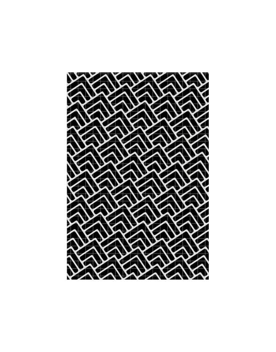 Chevrons Stencil Carabelle