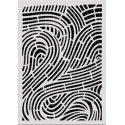 Curves Stencil Carabelle