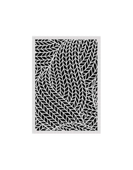 Knitting Stencil Carabelle