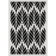 Pochoir Floral pattern Carabelle