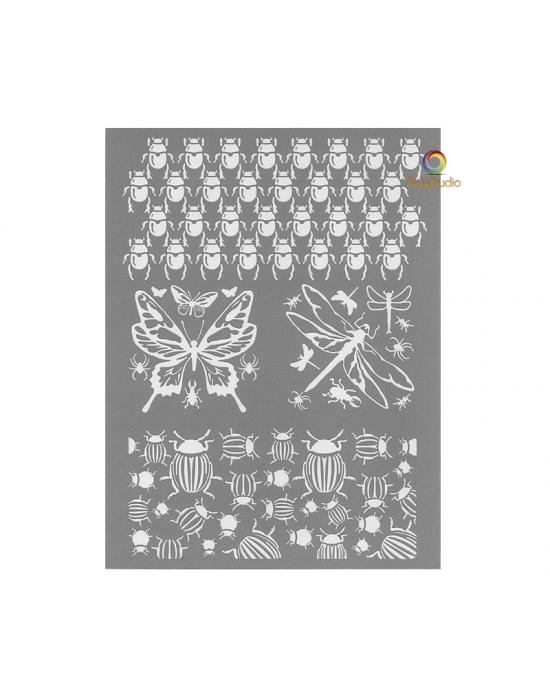 Écran de sérigraphie Graine Créative Insectes
