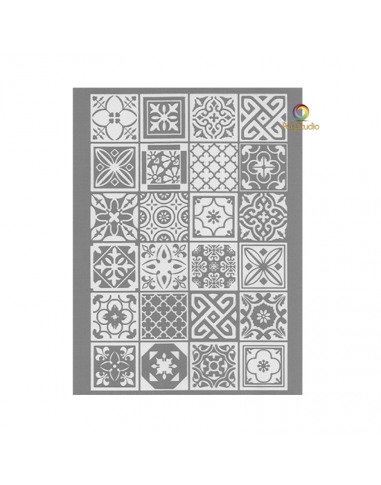 Graine Créative silk screen Azulejos
