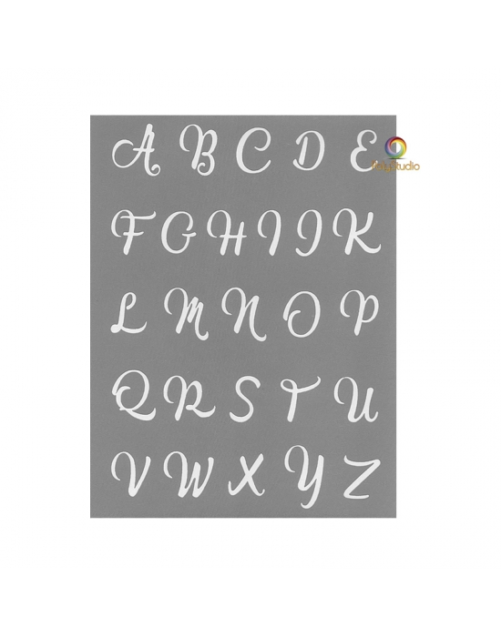Écran de sérigraphie Graine Créative Alphabet