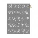 Graine Créative silk screen Alphabet