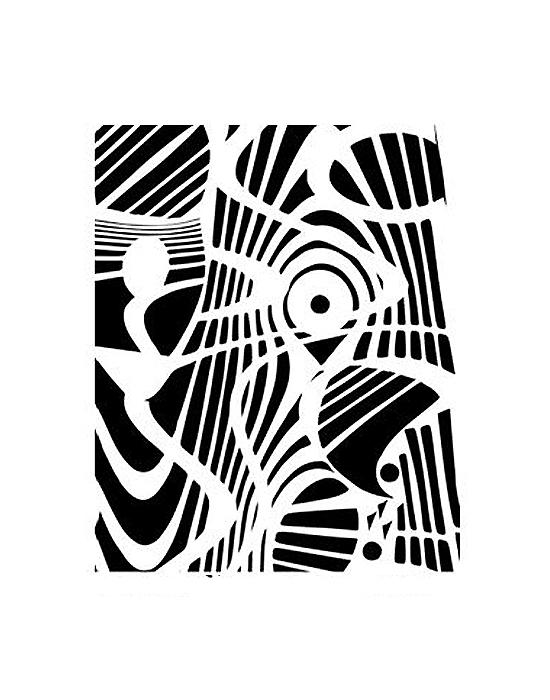 Pixie Art silk screen Refraction