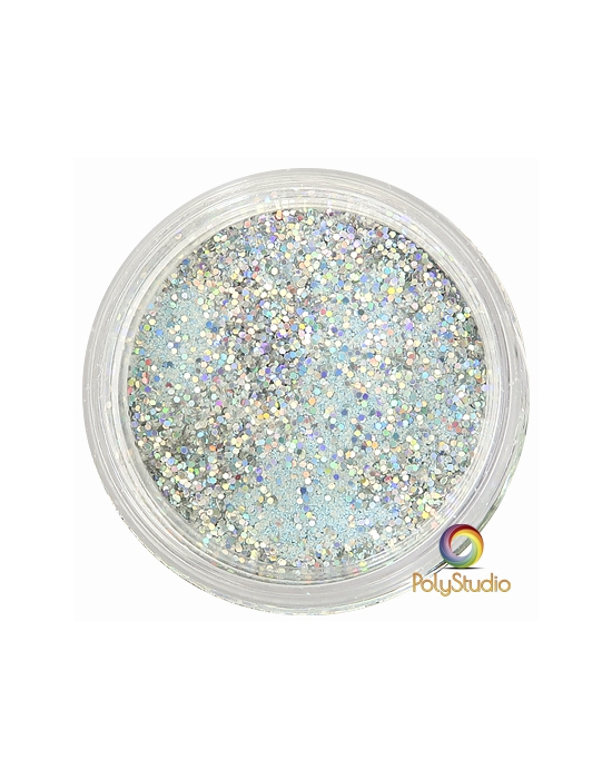 WOW embossing powder Iced Silver