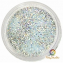 WOW embossing powder Iced Silver glitter