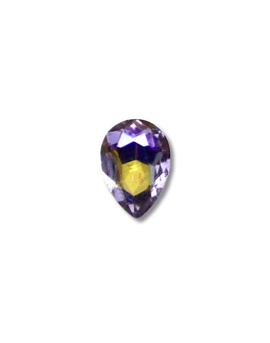 5 Amethyst drop mini jewels