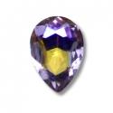 5 Amethyst drop mini jewels