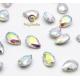 5 Multicolor Iridescent mini jewels