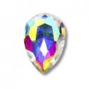 5 Multicolor Iridescent drop mini jewels