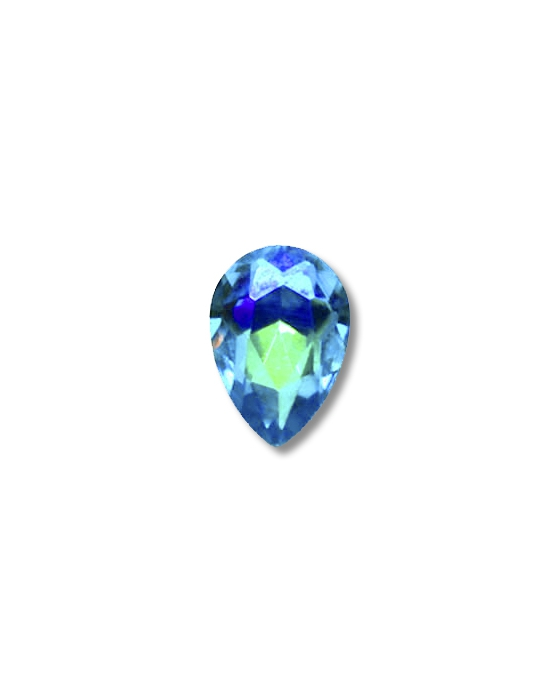 5 Blue drop mini jewels