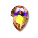 5 Amber drop mini jewels