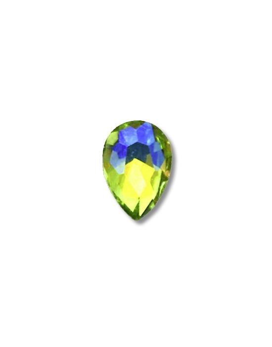 5 Yellow green mini jewels