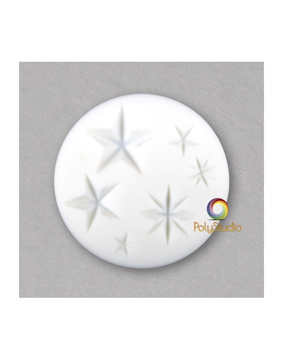 Stars silicon bakeable mold