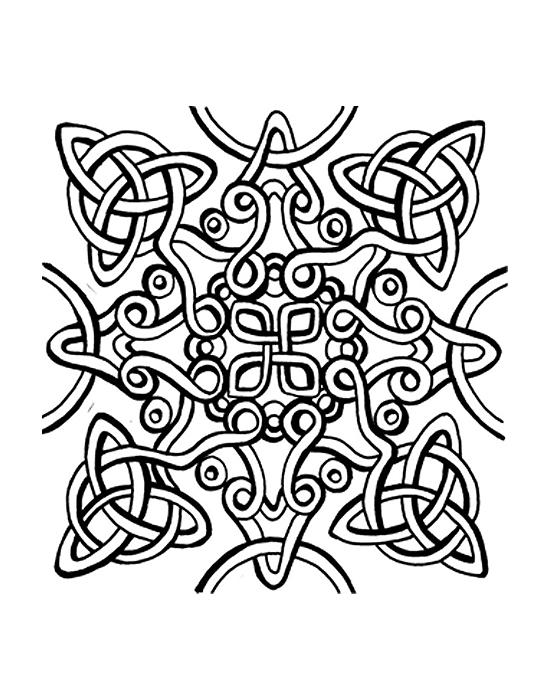 Texture Cernit Celtic Knot