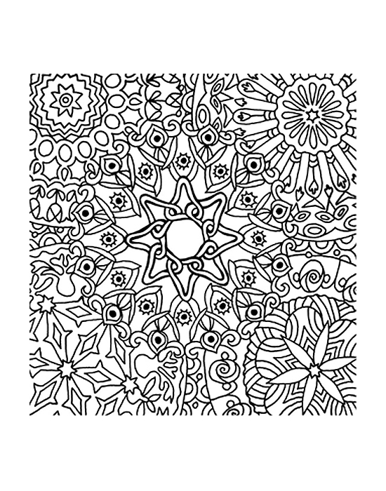 Texture Cernit Mandala