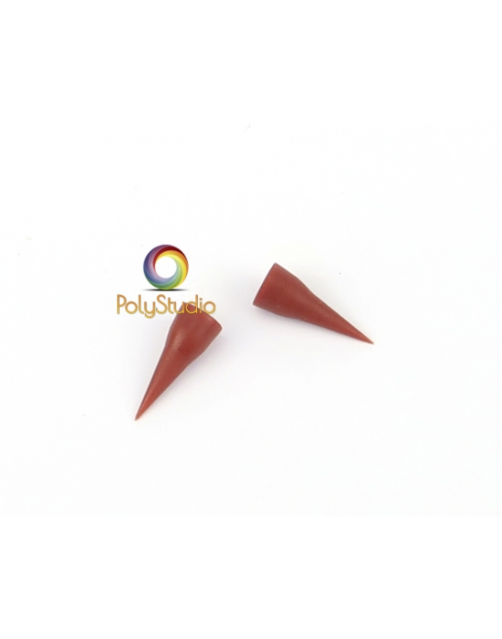 2 Conical rubber tips