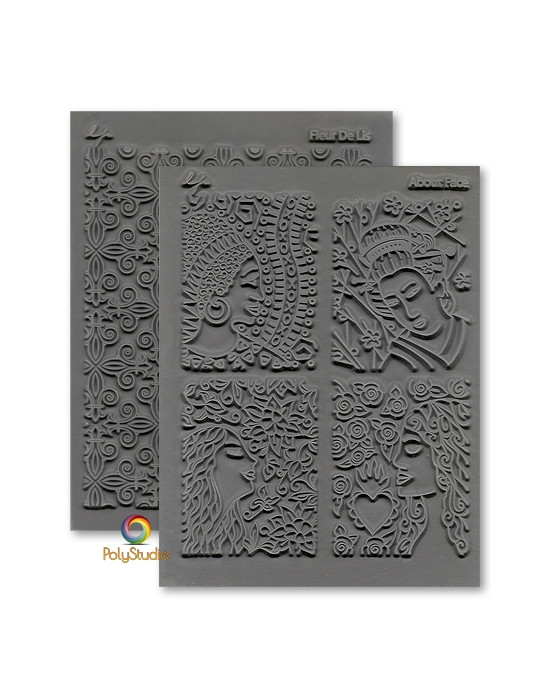 2 L. Pavelka Texture stamps Adornments