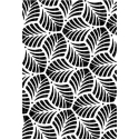 Interlaced Leaves Stencil Carabelle