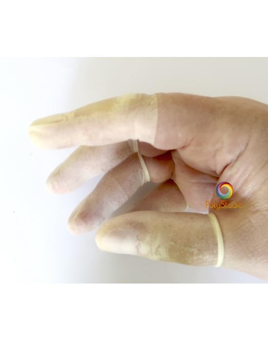 50 doigtiers de protection latex ultra fins