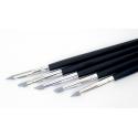 5 outils de modelage silicone medium