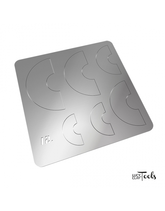 Lucy Clay Shape Plate Nr 12