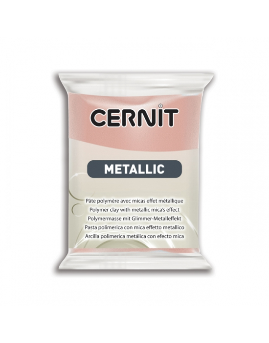CERNIT Métallique 56 g Or rose