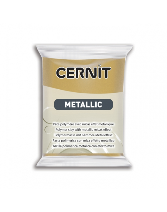 CERNIT Métallique 56 g Or riche