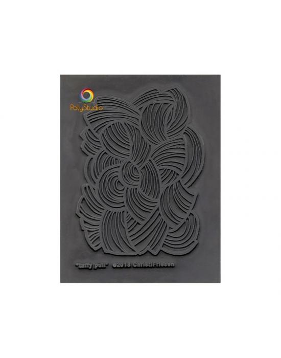 C. Friesen Texture stamp Taffy