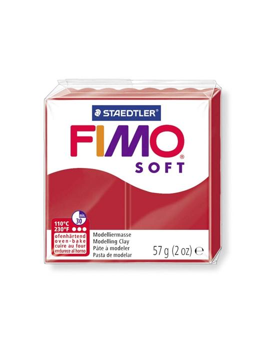 FIMO Soft 57 g Rouge Noël N° 2