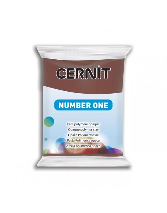 CERNIT Nr One 56 g Brun N° 800