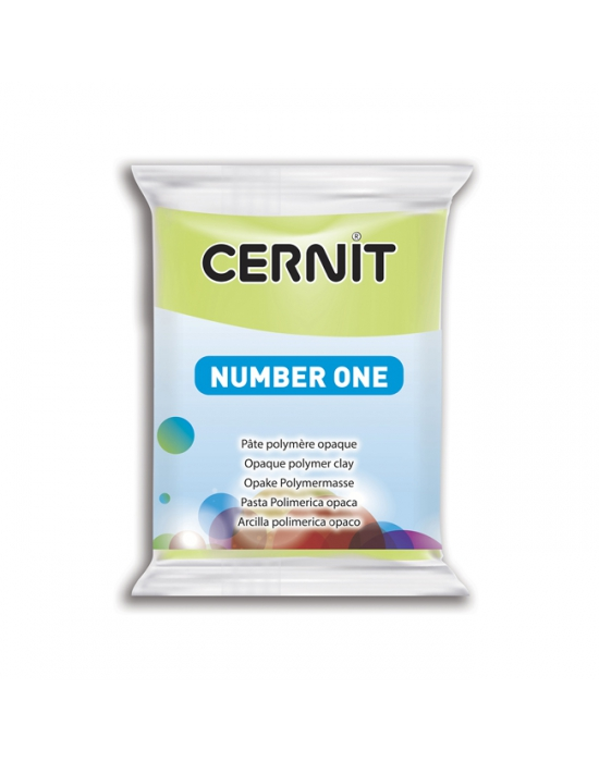 CERNIT Number One - 56 g - Vert anis - N° 601