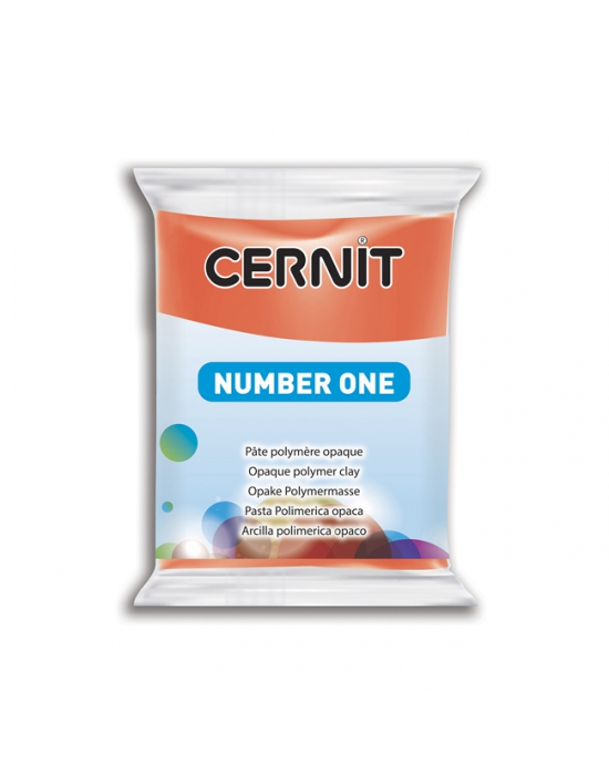 CERNIT Number One - 56 g - Rouge pavot - N° 428