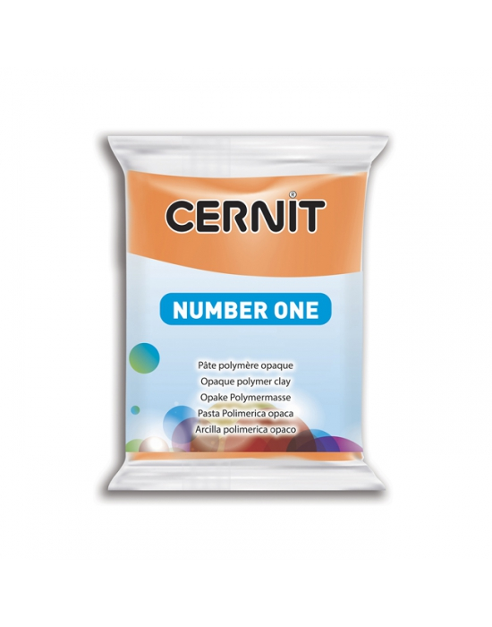CERNIT Number One - 56 g - orange - N° 752
