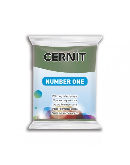 CERNIT Number One - 56 g - Olive - N° 645