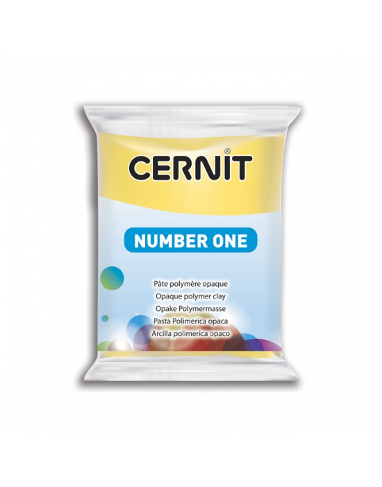 CERNIT Number One - 56 g - Jaune - N° 700