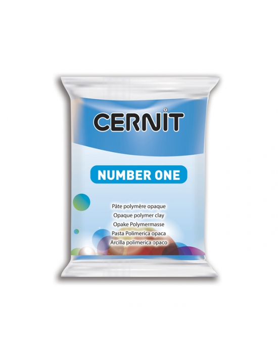 CERNIT Number One - 56 g - Bleu - N° 200