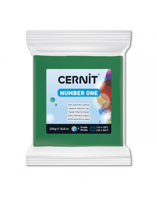 CERNIT Nr One 250 g Vert N° 600