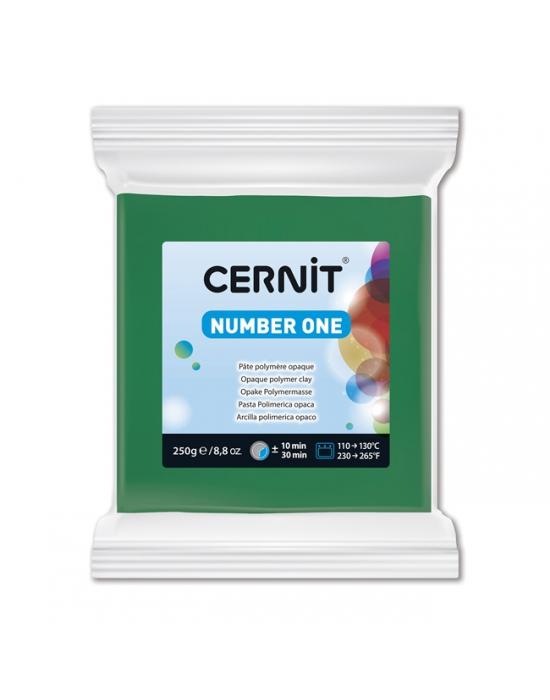 CERNIT Number One - 250 g - Vert - N° 600