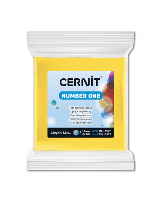 CERNIT Number One - 250 g - Jaune - N° 700