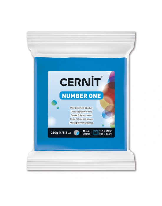 CERNIT Number One 250 g Bleu N° 200