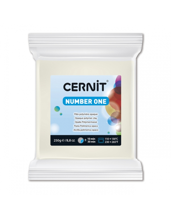 CERNIT Number One - 250 g - Blanc - N° 27
