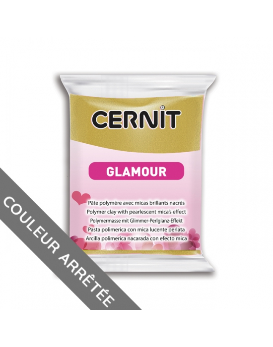 CERNIT Glamour - 56 g - Or antique - N° 55