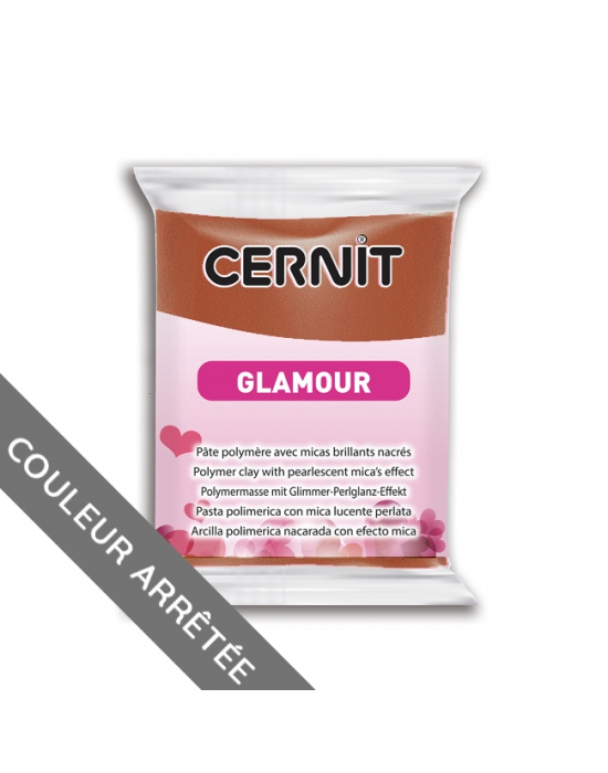 CERNIT Glamour 56 g Cuivre N° 57
