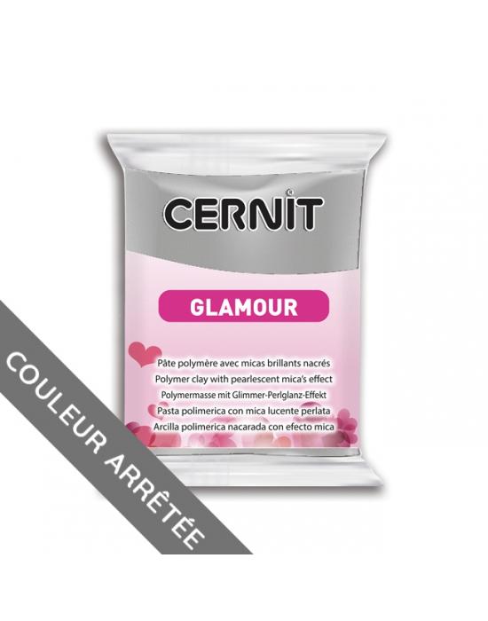 CERNIT Glamour 56 g Argent N° 80