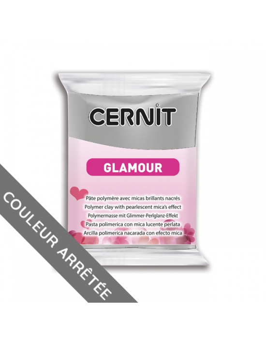 CERNIT Glamour - 56 g - Argent - N° 80