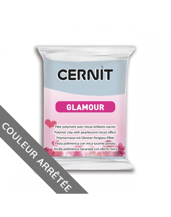CERNIT Glamour 56 g Bleu N° 200