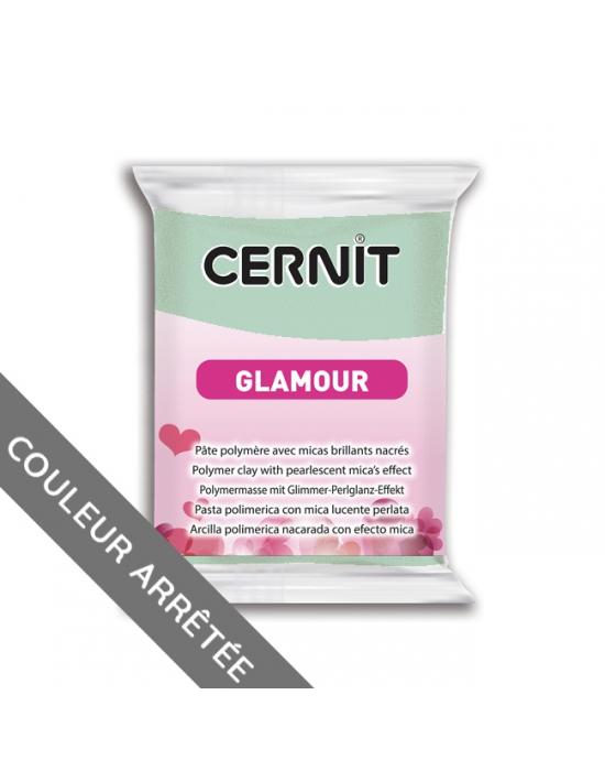 CERNIT Glamour - 56 g - Vert clair - N° 611